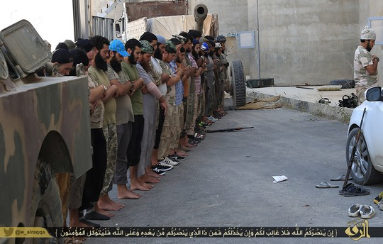"""Prayer"". Photo: Islamic State"