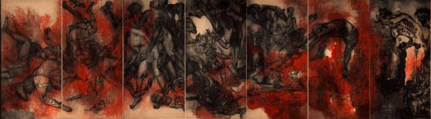 Hiroshima Panels - FIRE