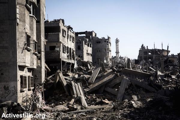 rubble-gaza
