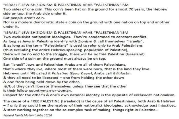 zionism palism meme