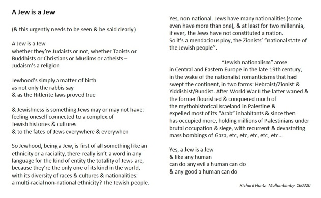 a jew is a jew