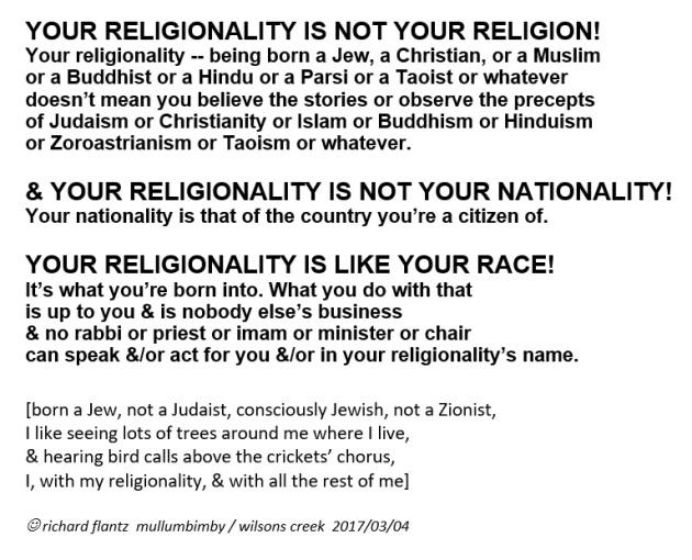 your-religionality